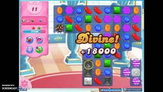 Candy Crush Level 1574 Audio Talkthrough, 3 Stars 0 Boosters