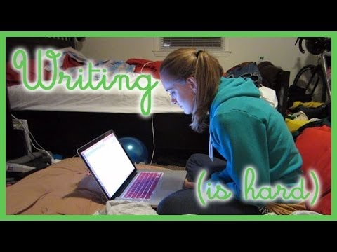 Writing a Book in a Month (Filmed every day of Nov)