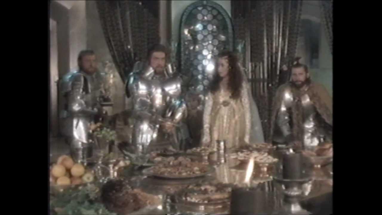 Liam Neeson In Excalibur Banquet Scene Youtube