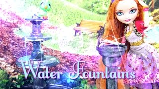 DIY - How to Make: Doll Water Fountains - Handmade - Doll - Crafts
