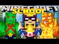 Minecraft School : HOW TO BE A SUPERHERO!