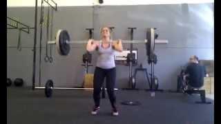 CrossFit Burgos - Coach Luciana - Clean & Jerk