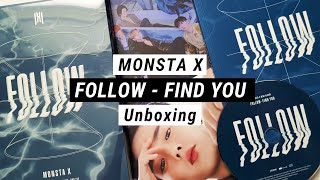 Unboxing Monsta X - Follow Find You 7th Mini Album Ver. II,III infireslifeu