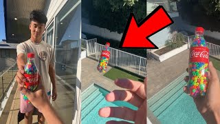 Most SATISFYING Drop Test!! 😍 - #Shorts