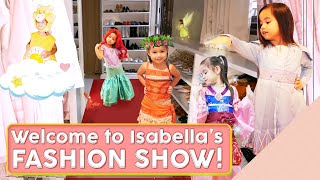 ISABELLA'S COSTUME COLLECTION  [Quarantine Activities with your Kids]
