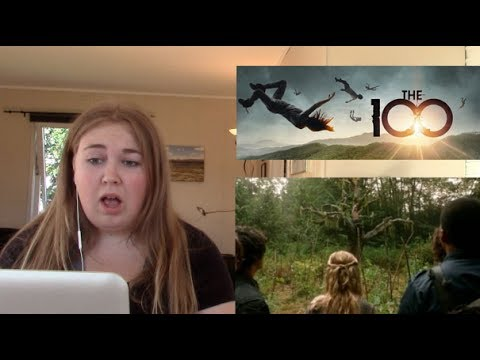 The 100 season 1 episode 2 REACTION Earth skills