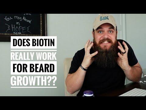 Does BIOTIN Really Work for Beard Growth??