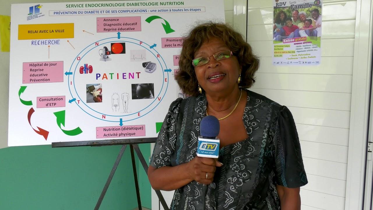 Reportage sur le service d'endocrinologie en Guadeloupe