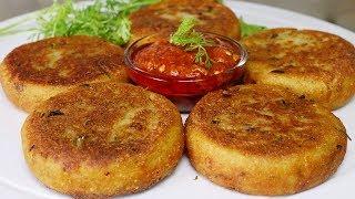 Aloo Tikki Recipe  Street Style Aloo Tikki  Kanak&#39s Kitchen