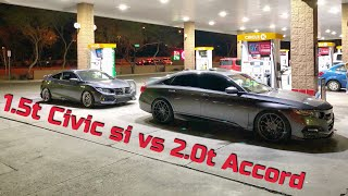 2017 Civic si vs 2018 Accord 2.0t