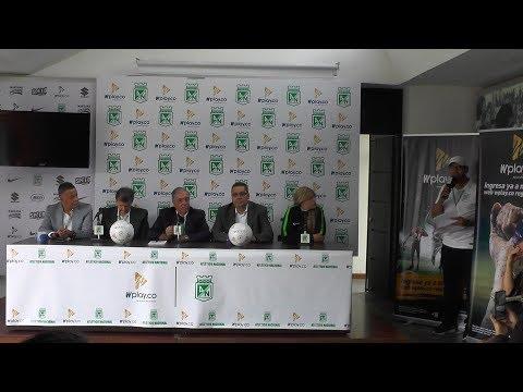 """Atlético Nacional:""""Wplay.co nuevo patrocinador del VERDE""""..."""