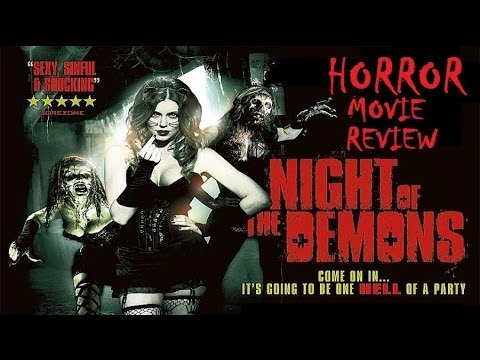 Download NIGHT OF THE DEMONS ( 2009 Shannon Elizabeth) Horror Movie Review