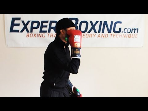 Keeping Right Shoulder High In Boxing Stance