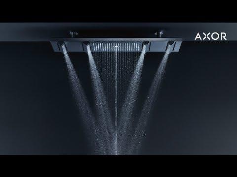 AXOR Showers |Avantgarde in the shower - YouTube