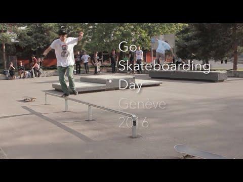 Go Skateboarding Day Genève 2016