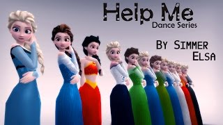 MMD - [Frozen] Help me (song muted)