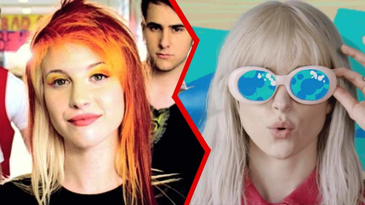 The Evolution Of Paramore Youtube