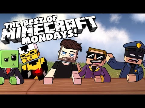 The BEST of MINECRAFT MONDAYS with The Crew!