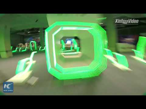 Drone racing competition held at World Intelligence Congress in Tianjin