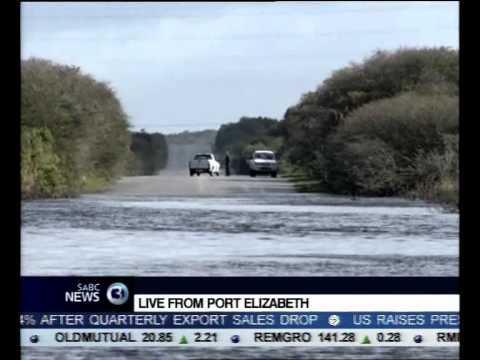 Port Elizabeth remains on flood alert