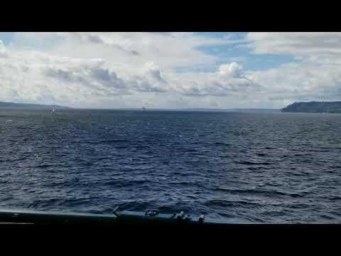 Taking the Ferry to Whidbey Island, Washington