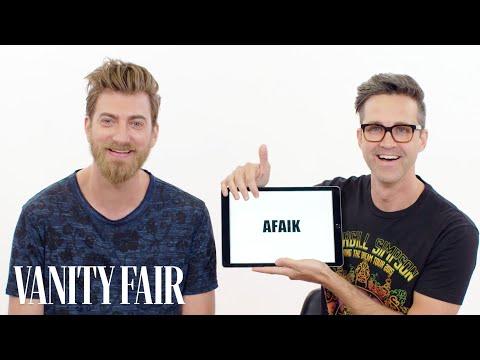 Rhett & Link Teach You Internet Slang | Vanity Fair