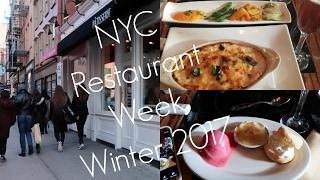 Restaurant Week- NYC 2017