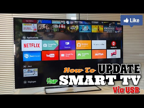 Update Samsung Smart TV Via USB Drive