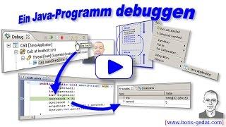Ein Java Programm debuggen (mit Eclipse)
