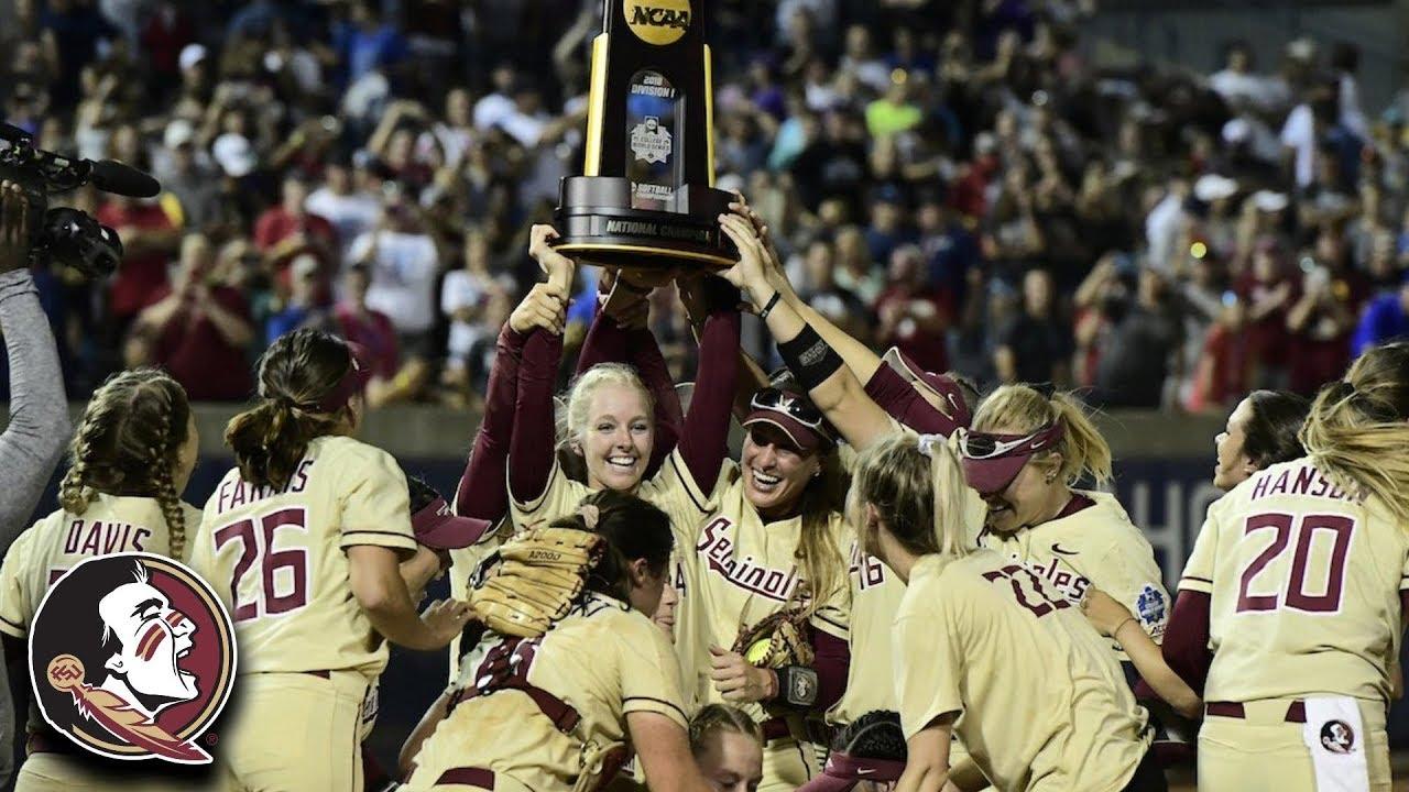 Florida State Wins 2018 Softball National Championship ...