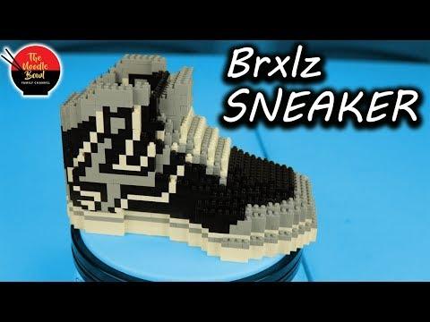 Brxlz NBA Shoe, San Antonio Spurs Speed Build and Review