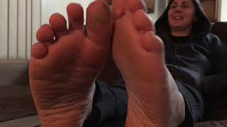 Sexy shoe tease/removal soles and toes