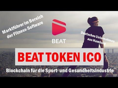 BEAT Token ICO - Anwendung der Blockchain in der Gesundheits- und Sportindustrie - 60000% möglich?