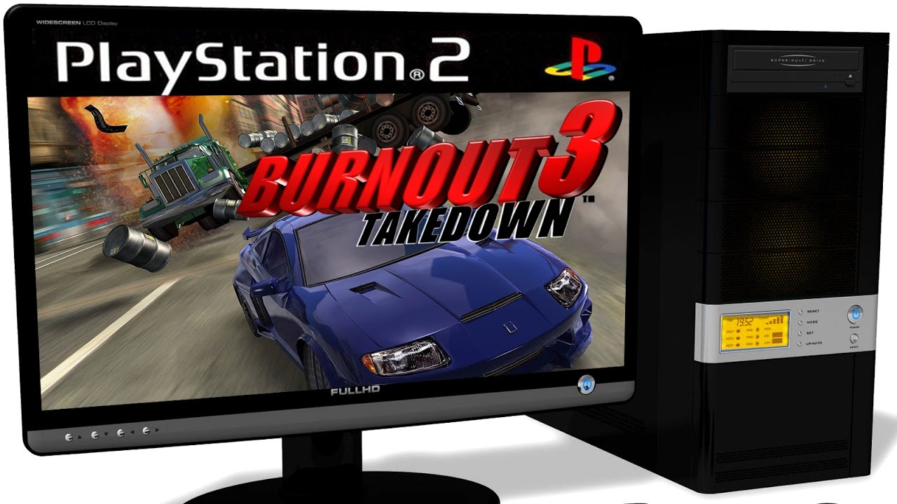 PCSX2 1 5 0 PS2 Emulator - Burnout 3: Takedown (2004)  Ingame  DirectX 11   Test #1