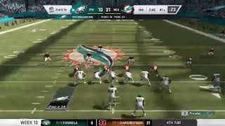 Ckfl   Season 9   Week 13   Eagles Vs Dolphins