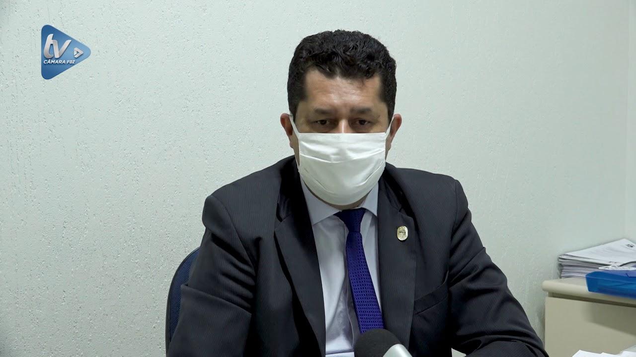 Rogério Quadros requer garantia da prioridade na testagem de Covid para  profissionais de segurança - YouTube