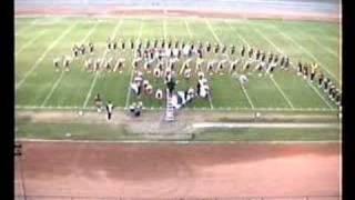 Glendora H.S. Marching Band @1989 Azusa Field Tournament