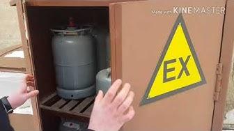 Kaasupullo vaihtaminen ja asentaminen