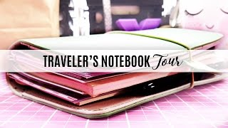 My First TN/Planner Tour: Standard/Regular Webster's Pages Traveler's Notebook