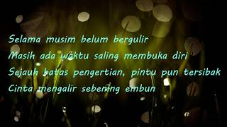 "Lirik lagu- ""Cinta Sebening Embun"" Ebiet G Ade"