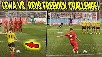 LEWANDOWSKI vs. REUS Freekick Challenge! - Fifa 20 Freistoß Ultimate Team mit Bruder