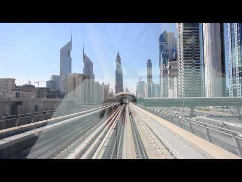 Cruise MSC Splendida 2018 (UAE+Oman)_Dubai metro red line