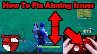 How To Fix FORTNITE AIMING ISSUES (Xbox & PS4) (*After New Update Patch*)