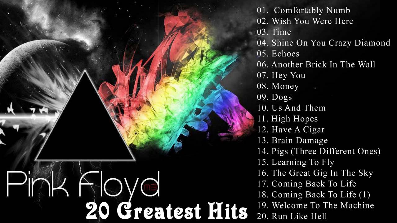 The Very Best Of Pink Floyd Pink Floyd 20 Greatest Hits YouTube