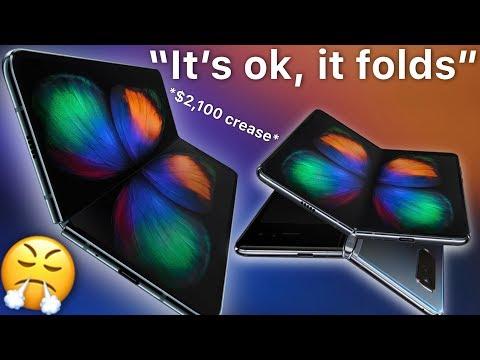 Apple Sheep RANT about Galaxy Fold sympathizing