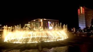 """Шоу фонтанов,Лас-Вегас,отель """"Белладжио"""",Las Vegas, NV, Bellagio"""