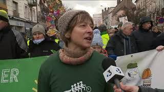Marche pour le climat à Lure, Haute-Saône