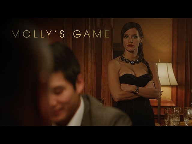 Molly's Game | Trailer Announcement | Own it Now on Digital HD, Blu-ray & DVD