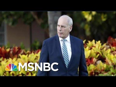 Wall Street Journal: President Donald Trump Consults On Successors For John Kelly | Hardball | MSNBC