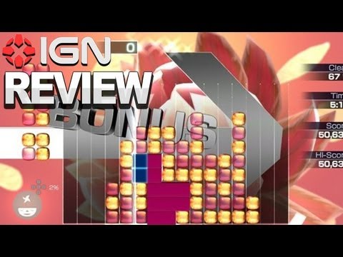 IGN Reviews - Lumines: Electronic Symphony - Game Review